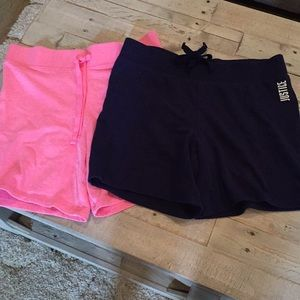 Set of 2 Justice Active shorts